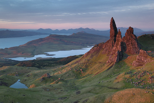 The Old Man of Storr, Trotternish, Skye | by Douglas Griffin