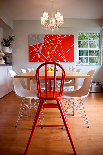 Red High Chair | by The New Domestic