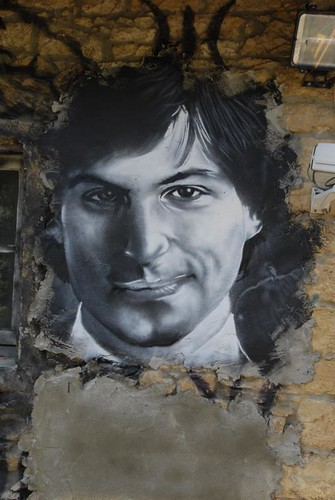 Steve Jobs painted portrait _DDC7925 | by Abode of Chaos