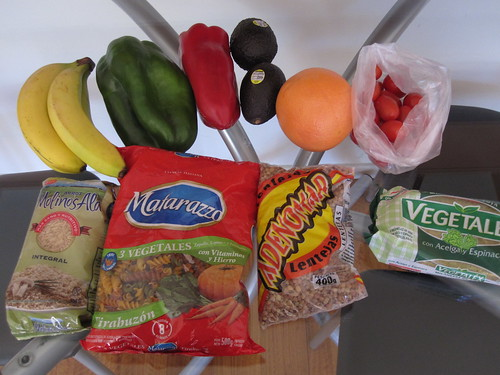 First grocery run | by veganbackpacker