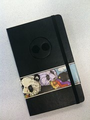 New Flickr Moleskines (with a rainbow-vomiting panda wrap). | by timoni