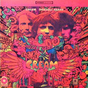 Cream-rare-vintage-psychedelic-stereo-lp-vinyl-record-albu ...