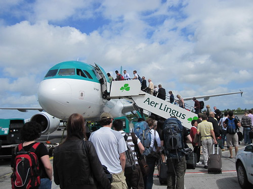 Are Lingus Dublin to Amsterdam | by veganbackpacker