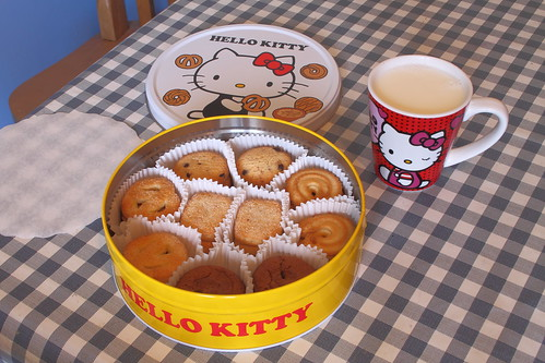 Cookies & Milk with a Hello Kitty theme..... | by Jay Tilston