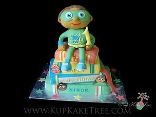 Super Why Birthday Cake Pan