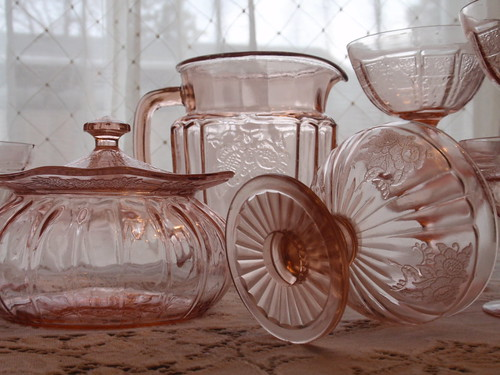 Pink depression glass | by eg2006