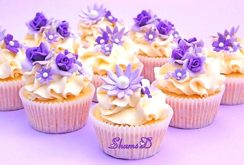 Purple,Lilac n White | by ~Très Chic Cupcakes by ShamsD~