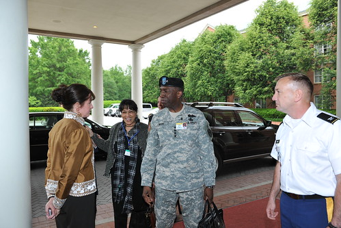 Gen. William Ward (Arrival) - African Land Forces Summit - 12 May 2010 | by US Army Africa