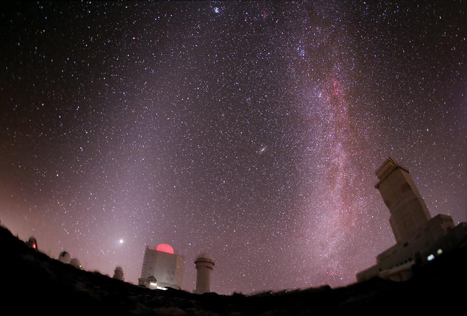 Magia nocturna en el Observatorio del Teide