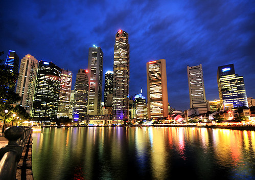 singapore 39 s big city lights singapore lights up the sky a flickr. Black Bedroom Furniture Sets. Home Design Ideas