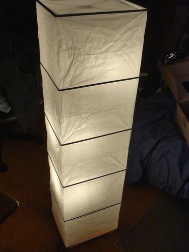 Assembled Rutbo Floor Lamp Flickr Photo Sharing