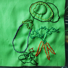 veggies stitching! | by -leethal-