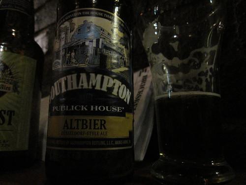 Southampton Altbier | A bottle of Southampton Altbier from ...