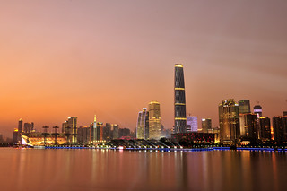 Guangzhou at Dusk Time, Guangdong, China _HXT2067 | by ohmytrip
