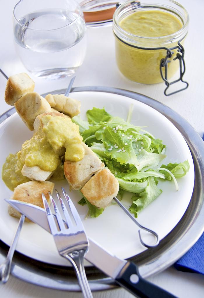 Pollo con Amba Maluwa (salsa al Mango)