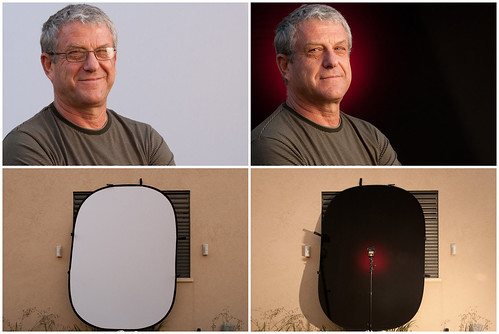 Portraits & Setups Using Impact's Collapsible backdrop | by udijw