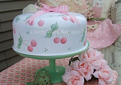 Princess Pink Cherry DeLight Cake Cover | by from my cherry heart