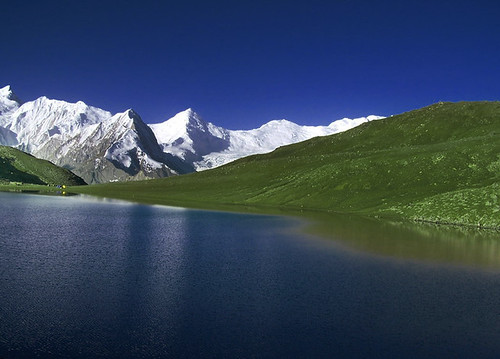 rush lake (4740 meters) highest lake in pakistan | by TARIQ HAMEED SULEMANI