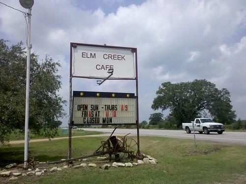 Elm Creek Cafe Reviews