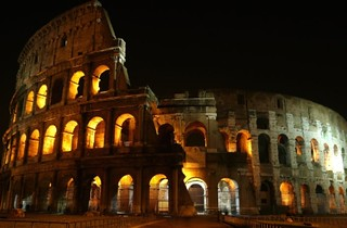Colosseum - Colosseo Roma - 180 degrees - Coliseum - Flavian Amphitheater | by Sir Francis Canker Photography ©