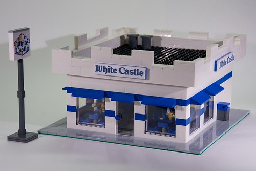 LEGO White Castle | by Rob Bender