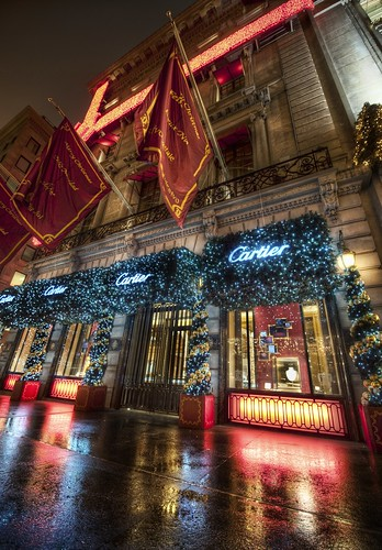 Cartier in New York during the Holidays | by Stuck in Customs
