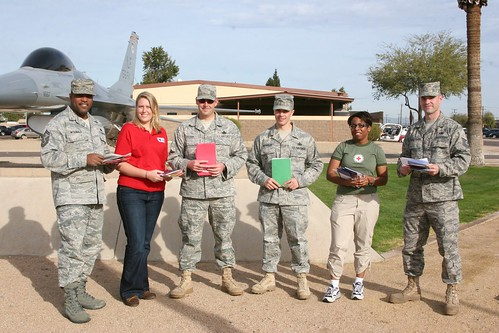 Card Delivery at Luke Air Force Base | by American Red Cross