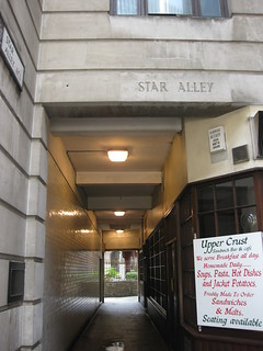 Star Alley, City of London | by bluebeart