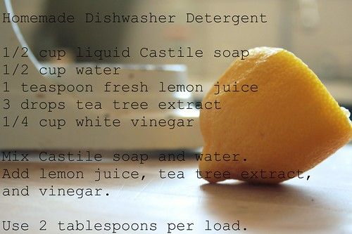 Homemade Dishwasher Detergent | by molly dunham