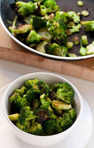 broccoli bowl and frying pan | by jules:stonesoup
