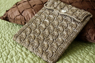 cabled ipad sleeve 1 | by haramisdesigns