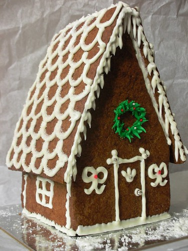 gingerbread house | by awhiskandaspoon