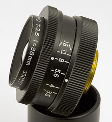 Olympus Zuiko MC-Macro 1:3,5 f=38mm lens | by s58y