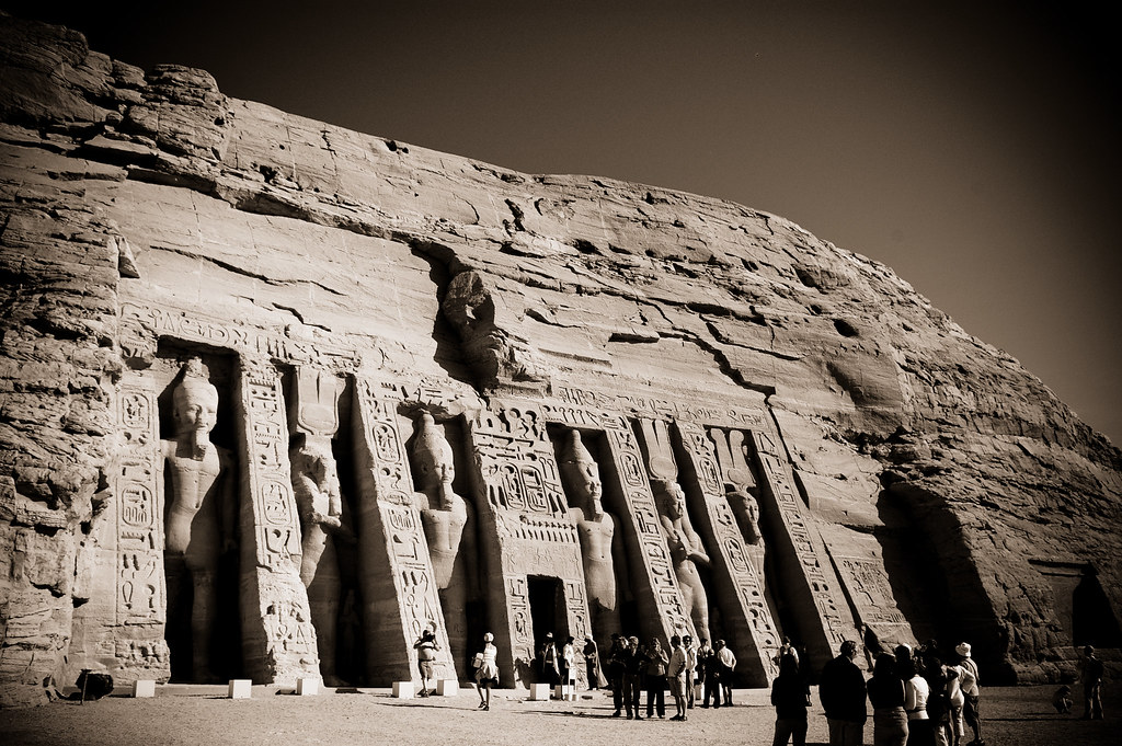 Abu Simbel - Small Temple