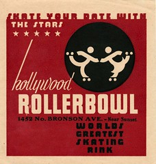 Hollywood Rollerbowl - Hollywood, California | by The Cardboard America Archives