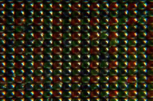 Bayer Filter Pattern on CCD (600X) | by kevincollins123