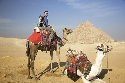 Riding camels in Egypt | by cbookholt