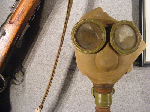 Japanese Gas Mask and Rifle | by Gruenemann