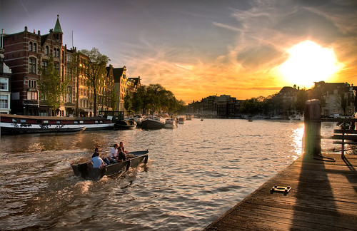 Sunset over Amsterdam (Frontpage) | by Werner Kunz