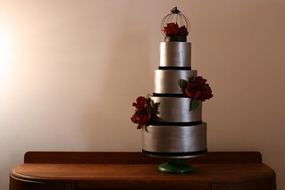 "A wedding cake for ""Sweet libertine"" 