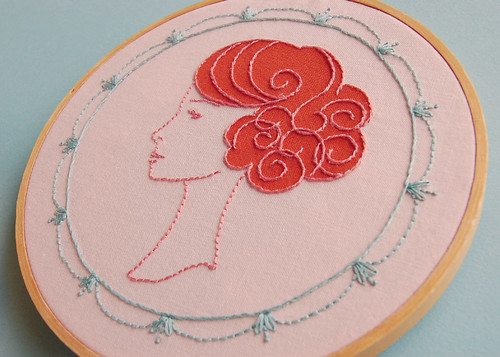 Wig Wonderful Embroidery | by septemberhouse