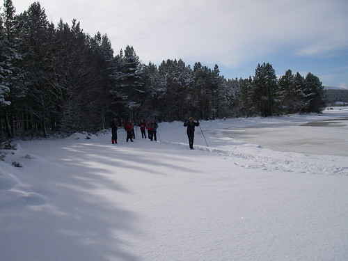 ski touring 16 glenmore trails with berghaus staff group | by Full On Adventure