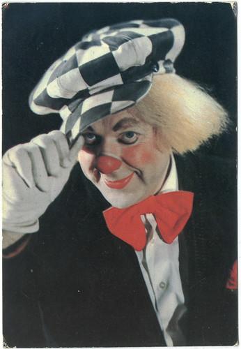 Clown Oleg Popov_Soviet Circus (1982)