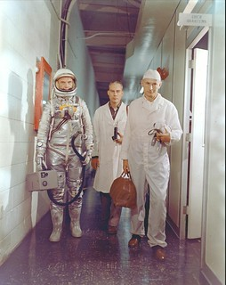 John Glenn, Mercury -- Heads to the Launch Pad | by NASA on The Commons