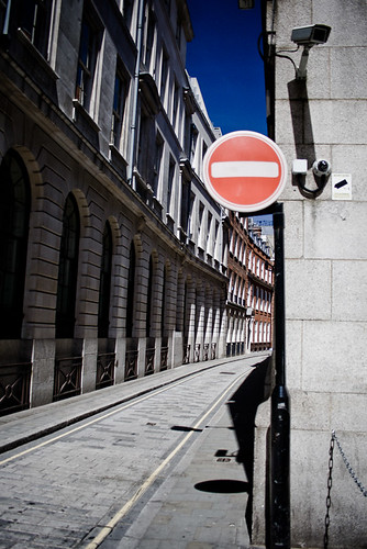 No Entry | by Mark Ramsay