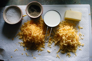 mise en place for mac and cheese | by shauna | glutenfreegirl
