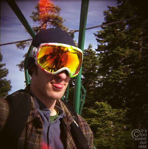 Big Bear Holga 02 | by TooSunnyOutHere