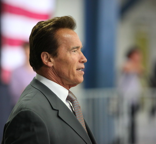 Arnold Schwarzenegger Head Shot | by jurvetson