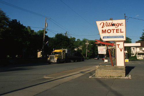Village Motel Mobile Home Park Northumberland New Hampshire