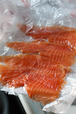 double smoked nova lox at zabars | by David Lebovitz